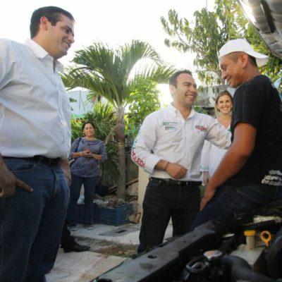 Dice Carlos Toledo que buscará que los recursos se canalicen para consolidar proyectos sociales