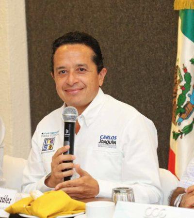 Propone Carlos Joaquín simplificación de trámites para la apertura de negocios