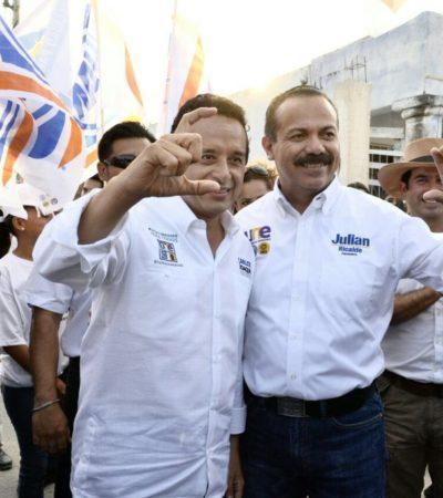 """""""LA SEGURIDAD CIUDADANA SE PERDIÓ CON EL PRI"""": Inicia Julián Ricalde campaña para recuperar Cancún y ofrece una nueva policía para devolver la paz"""