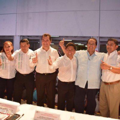 SE ACABARON LOS 'JALONEOS': Se registra Filiberto Martínez como candidato para la Alcaldía de Solidaridad por segunda vez