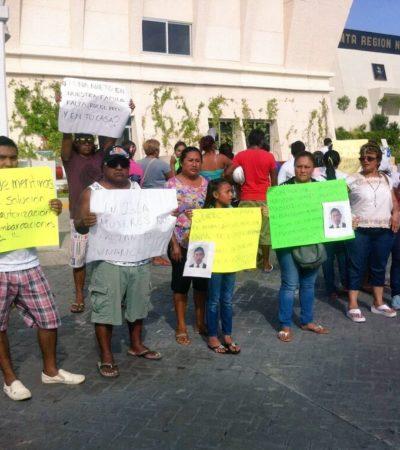 SIGUE INCERTIDUMBRE: Piden familiares de pescadores desaparecidos intensificar búsqueda y permitir la entrada de guardia costera de EU en aguas nacionales
