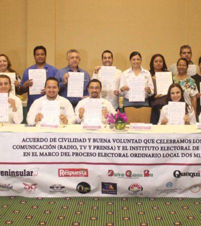 Dice Ieqroo no tener conocimiento de cobertura inequitativa en medios de campañas en Quintana Roo