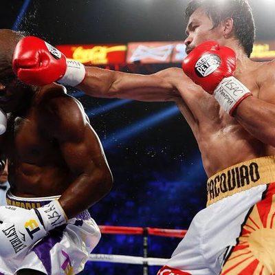 SE DESPIDE PACQUIAO CON TRIUNFO: En la última pelea de su carrera, el boxeador filipino vence por decisión unánime a Timothy Bradley