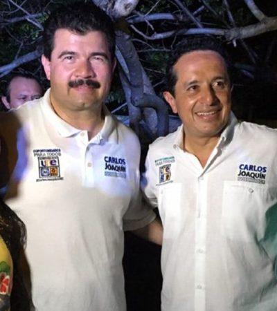 Respaldan Carlos Joaquín y Gustavo Ortega campaña de Perla Tun por Cozumel