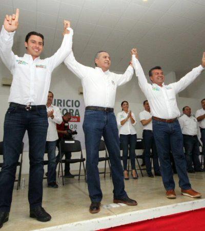 """""""NO ME GUSTAN LOS CHISMES"""": Rechaza Beltrones 'doble juego' de la Presidencia para ganar la gubernatura de QR; da respaldo a Mauricio y a Remberto"""