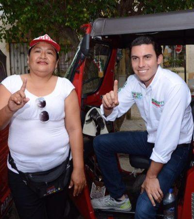 Asegura Remberto que buscará atraer más turistas a Cancún para que no falte el empleo aun en temporadas bajas