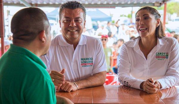"""""""FÉLIX NO ES MI PADRINO"""", INSISTE MAURICIO: Incómodo y avasivo, candidato le avienta la pelota al Ieqroo sobre el debate"""