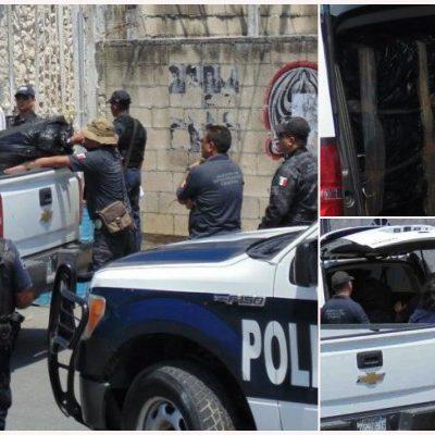 CATEAN NARCOBODEGA EN PLAYA: Decomisan 40 kilos de marihuana en cuartería de la Gonzalo Guerrero en operativo de PGR y el Ejército