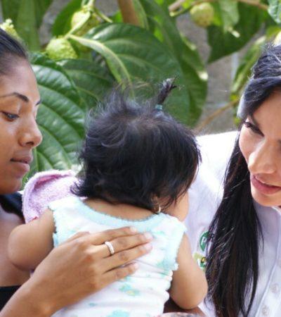Anuncia Laura Fernández audiencias públicas para ir resolviendo los problemas de Puerto Morelos