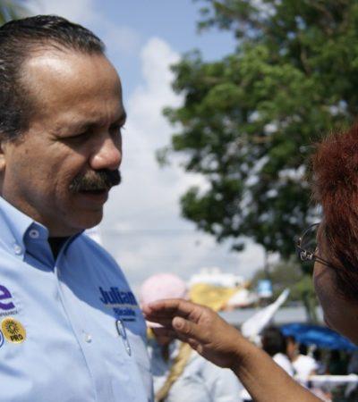 Se compromete Julián Ricalde a meter orden en el transporte urbano de Cancún