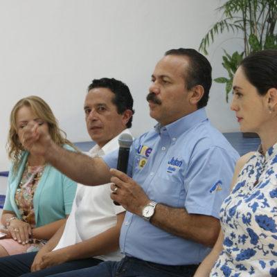 Dice Julián Ricalde que impulsará la igualdad salarial entre hombres y mujeres en su gobierno