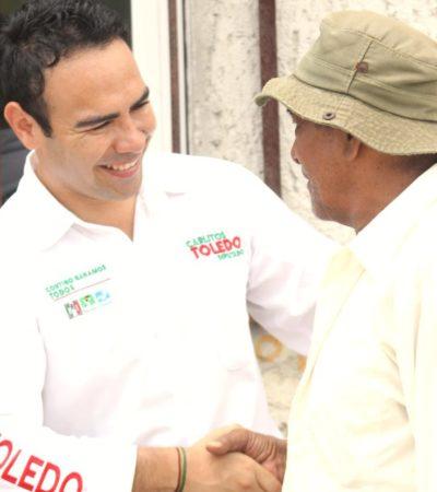 """Dice Carlos Toledo que su trabajo """"se cimentará en la honestidad y la integridad"""""""