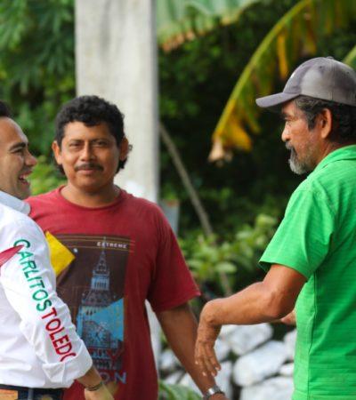 Se compromete Carlos Toledo con el fomento de la ecología desde la base municipal