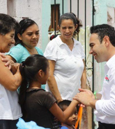 Se compromete Carlos Toledo a gestionar más y mejores oportunidades para la niñez de QR