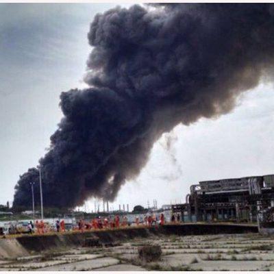 SACUDE EXPLOSIÓN AL COMPLEJO PAJARITOS: Suman 136 heridos y 3 muertos tras el estallido en planta de Pemex en Veracruz