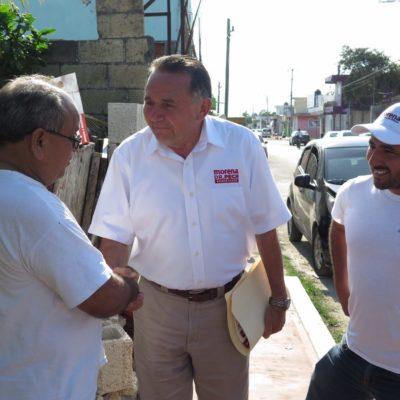 Dedica Pech Várguez su quinto día de campaña a 'actividades privadas'