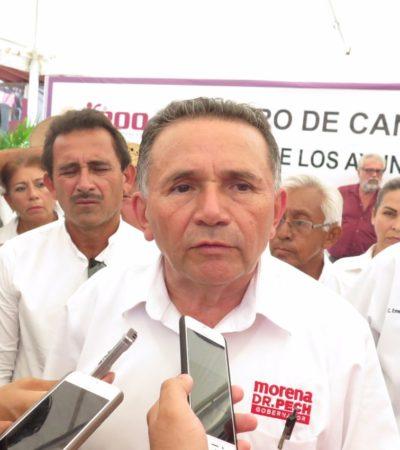 Rompeolas: Confirman alianza entre AMLO y el Dr. Pech