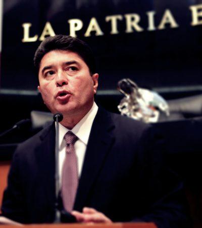 QUITAN ESCOLTAS A EX GOBERNADOR: De 16 que tenía, sólo le dejan 2 a Félix González Canto; Senador dice que renunció a su derecho