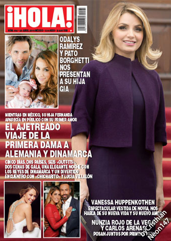 '¡HOLA!, QUÉ AJETREO': Receta revista nuevo capítulo de la frivolidad de la pareja presidencial, mientras EPN es cada vez más impopular