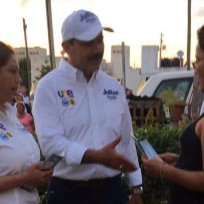 Recorre Gicela Alvarez la SM 223, fraccionamiento Los Héroes y la 248; buscará legislar para adultos mayores, dice
