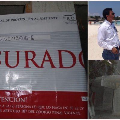 CLAUSURAN HOTEL POR DEVASTAR MANGLAR: Estrena Profepa nuevas oficinas en la Riviera Maya  e impone sanción por obras ilegales en Akumal