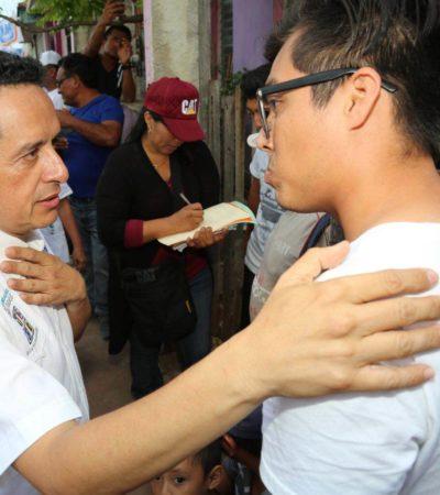 Inicia Carlos Joaquín una 'consulta ciudadana' para trazar la ruta del cambio tras la salida de Borge