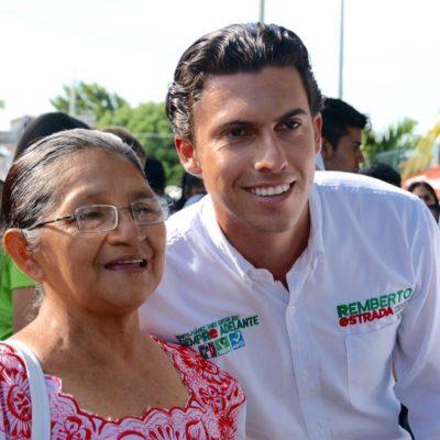 Dice Remberto Estrada que impulsará programas de apoyo para adultos mayores y sectores vulnerables