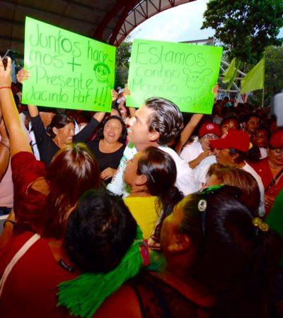 Anuncia Remberto Estrada, candidato de la alianza PRI-PVEM-Panal en BJ, que en los próximos días también presentará su declaración '3 de 3'