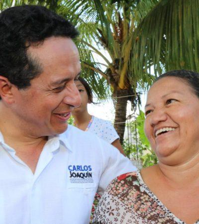 Propone Carlos Joaquín solucionar problemas de inseguridad con más equipo e infraestructura tecnológica