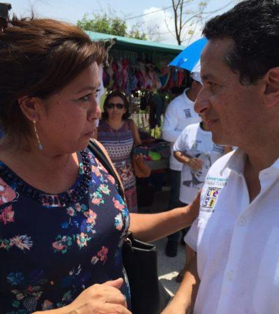 """Se suman promotores de candidaturas independientes a Carlos Joaquín; """"juntos lograremos la alternancia"""", les dice"""