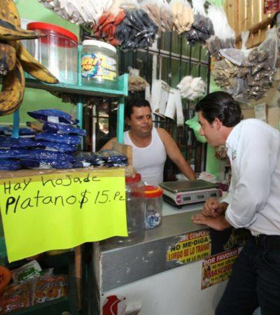 Dice Remberto Estrada que turismo y seguridad serán su prioridad para lograr un 'Cancún de 10'