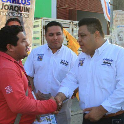 Desde el Congreso, defenderemos las playas y los recursos naturales de Tulum y Solidaridad, dice Orlando Muñoz