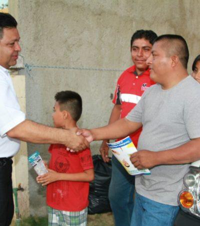 Los quintanarroenses merecen tener cobertura total en atención médica: Orlando Muñoz