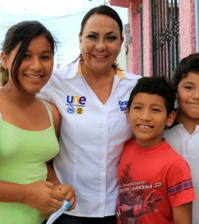 Los niños y jóvenes merecen una educación de calidad: Graciela Saldaña