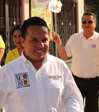 Urge autonomía legislativa, dice Javier Vite, candidato al Distrito IV