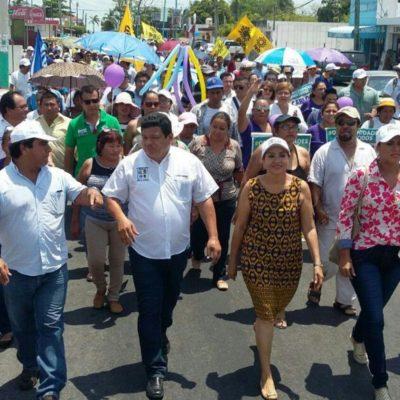 Lamenta Luis Torres LLanes destrucción de propaganda de Carlos Joaquín