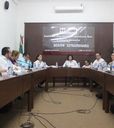 ELECCIÓN PAREJA: Al iniciar campañas por diputaciones, destaca Ieqroo que por primera vez en QR se compite en igualdad entre hombres y mujeres
