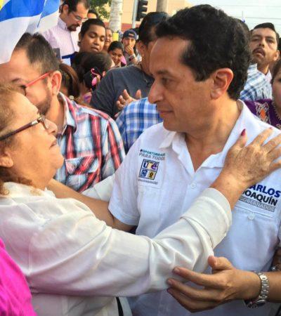 """""""ES LA HORA DE LA ALTERNANCIA"""": Advierte Carlos Joaquín que pondrá """"orden' en QR y se acabará el autoritarismo"""