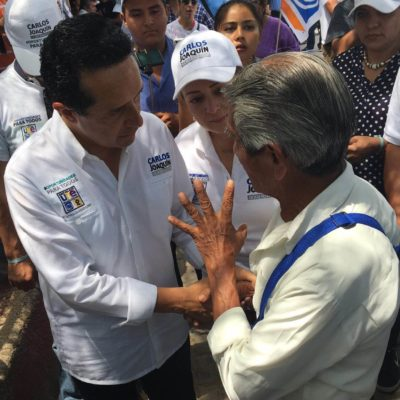 Se apunta Carlos Joaquín para un primer debate; que sean propositivos y generen oportunidades, plantea