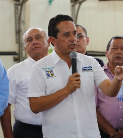Salud cercana a las familias con unidades móviles y Programa Médico en tu Casa, propone Carlos Joaquín