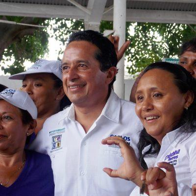 Respaldo total de Carlos Joaquín y Cristina Torres a deportistas