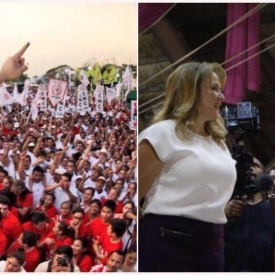 COMIENZA EL 'JALONEO' POR LA 'GRANDE': En Cancún y Chetumal, arrancan candidatos campañas por la gubernatura de Quintana Roo
