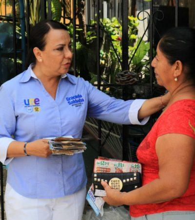 Impulsaré la creación de Centro de Justicia para Mujeres: Graciela Saldaña