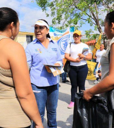 Promoverá Graciela Saldaña reformas a la legislación para armonizarlas con los tres niveles de gobierno necesario