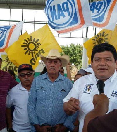 """""""EL GOBIERNO NO HA HECHO SU TAREA"""": Luis Torres Llanes llama a cambiar la situación del campo de OPB combatiendo la corrupción"""