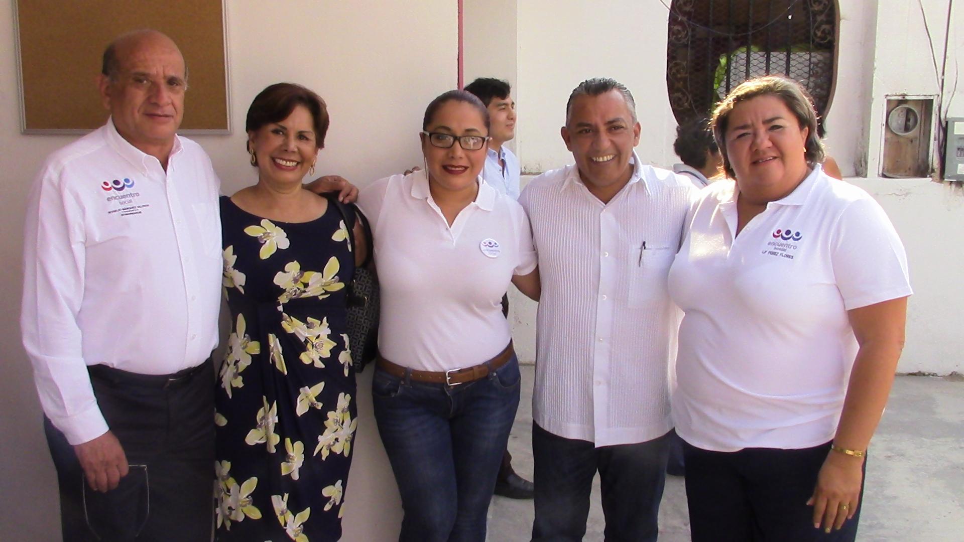 EL PES, TRAMPOLÍN PARA EL 'BIENESTAR' FAMILIAR: Registran a hija de Mario Villanueva y a esposa de Greg Sánchez como candidatas a diputaciones locales