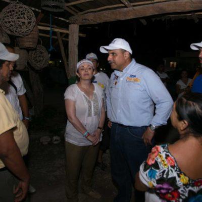 La zona maya de Tulum se muestra a favor del cambio, dice Jorge Portilla