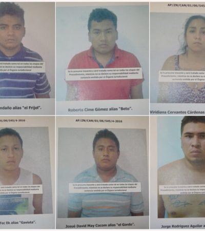 Tras ejecución en la Región 231 en Cancún, desmantelan una célula del narco con armas y drogas