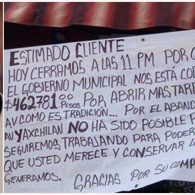 AHORCA PAUL A LA YAXCHILÁN: Suspende Alcalde incentivo a negocios en la vía nocturna de Cancún y pretende cobrar miles de pesos por permitir 'horas extras'