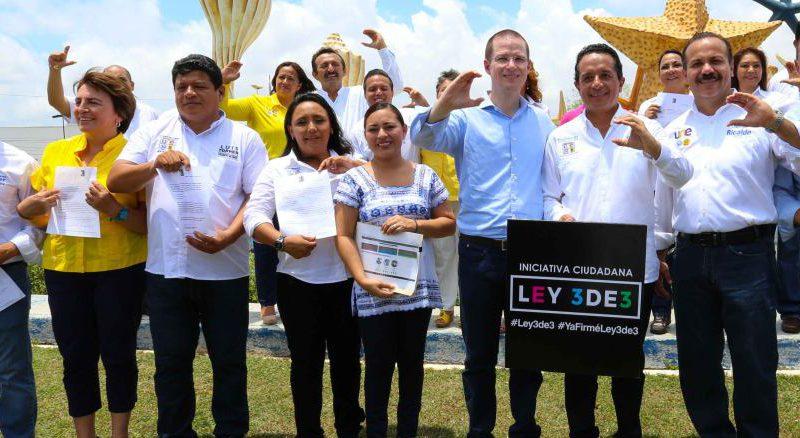 """""""EL CAMBIO VA EN SERIO"""": Presenta Luis Torres Llanes sus '3 de 3' y sostiene que rendir cuentas y ser transparentes es un compromiso de la alianza PAN-PRD"""